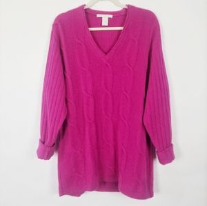 The Limited Vintage Angora Lambswool Sweater